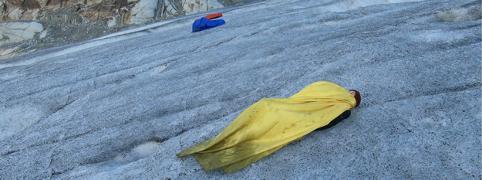 Dancewalk - Ultra Valais (2019) - Performing on the Rhône glacier, Switzerland