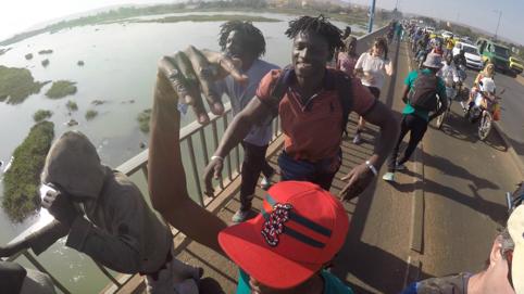 Bamako - Dancewalk (2019) - Going across the Niger river, Mali