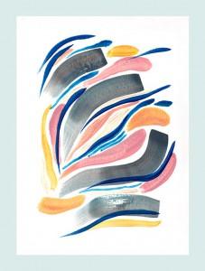 Oeuvre sur papier © Claire Sollinger