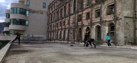 Mostar.Dancewalk (2017) - Dancing with the war's vestiges in Mostar, Bosnia-Herzegovina