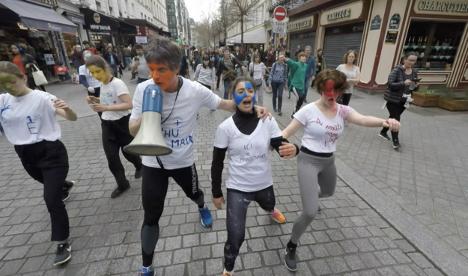 Dancewalk - Mai 2068 (2018) - Dancewalk en forme de manifestation, Paris - Nanterre, France