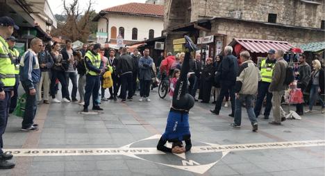 Sarajevo.Dancewalk (2017) - Souligner le symbolique à Sarajevo, Bosnie-Herzégovine