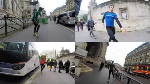 Circumvolution.Dancewalk (2016) - 62 kilomètres de danse autour de l'Opéra Garnier de Paris, France